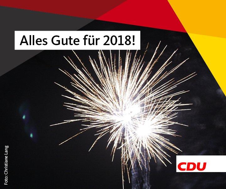 Wir wünschen Ihnen einen guten Start ins neue Jahr – CDU Bergkamen