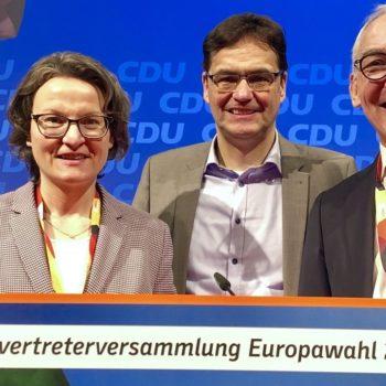 Ina Scharrenbach, Dr. Peter Liese, Heinrich Böckelühr